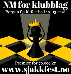 Bergen Sjakkfestival med NM for klubblag