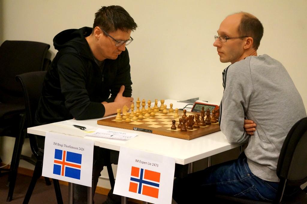 Thorfinnsson slår Lie og overtar ledelsen