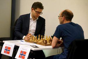 Hammer slår Espen Lie og tar førsteplass