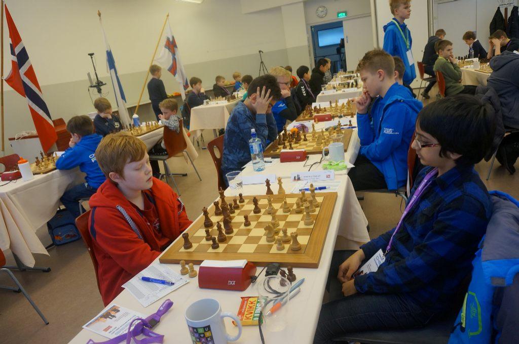 Unneland og Shehzad spilte remis i andre runde