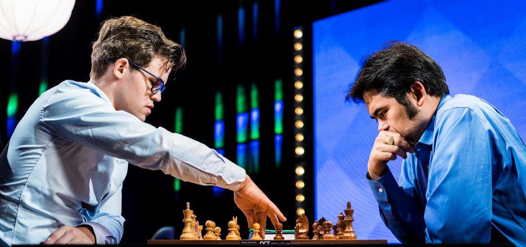 Carlsen og Nakamura