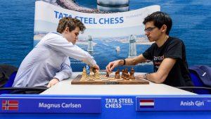 Carlsen vant Tata Steel Chess 2018 etter seier mot Giri i omspill