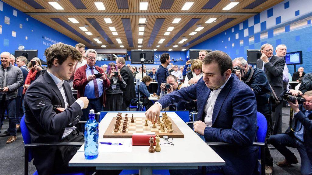Carlsen mot Mamedyarov
