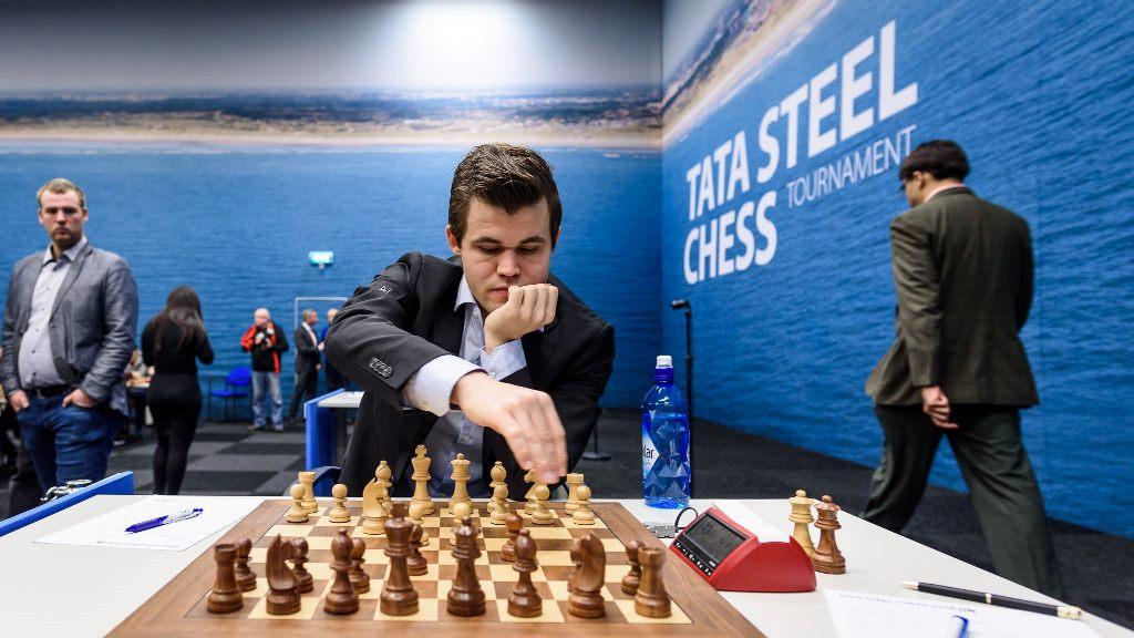 Carlsen gjorde jobben i 12. runde