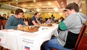Kryakvin slår Notkevich og overtar ledelsen