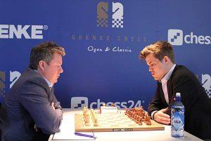 Endelig en ny seier for Carlsen mot Naiditsch