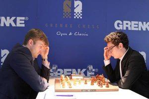 Caruana slo Vitiugov og tok en klar førsteplass