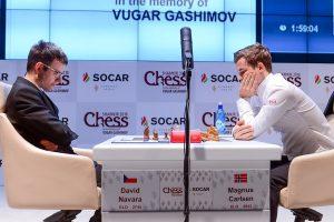 Navara hadde ingen problemer mot Carlsen