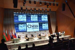 Fra 4. runde i Shamkir Chess