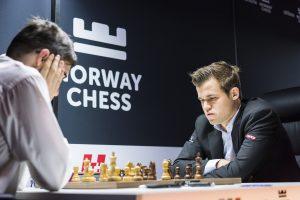En skuffende avslutning av Carlsen