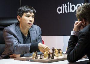 So vant mot Carlsen i sjette runde