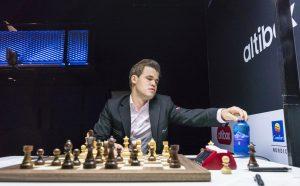 Carlsen fikk bare remis mot Mamedyarov
