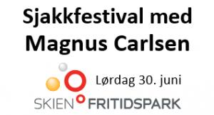 Sjakkfestival med Magnus Carlsen