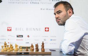 Mamedyarov leder nå alene i Biel
