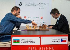 Mamedyarov økte ledelsen etter seier mot Navara