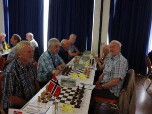 Det norske førstelaget med bra innsats i Senior-VM