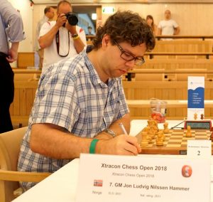 Jon Ludvig Hammer vant Xtracon Chess Open 2018