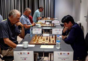 Øgaard og Gaprindashvili leder hver sin klasse i 65+