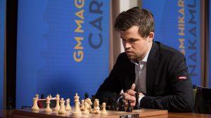 Remis for Carlsen i tredje runde