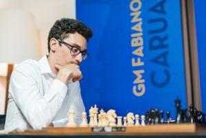Caruana har tatt ledelsen i Saint Louis