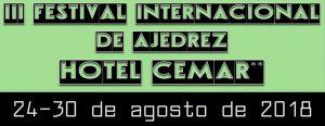 III Festival Internacional de Ajedrez Hotel CEMAR