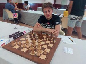 Mihajlov ble nummer fem i IM-gruppen