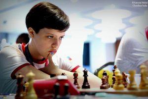 Russiske Maltsevskaya vant jenteklassen