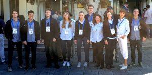 De norske OL-lagene i Batumi
