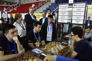 VM-utfordrer Caruana måtte nøye seg med remis