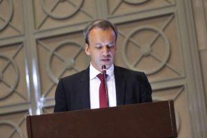 Den nye FIDE-presidenten Arkady Dvorkovich