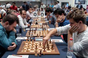 Mamedyarov og Carlsen spilte remis, men Vålerenga vant matchen