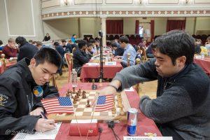 Amerikanske Xiong og Nakamura er blant lederne etter 7 runder