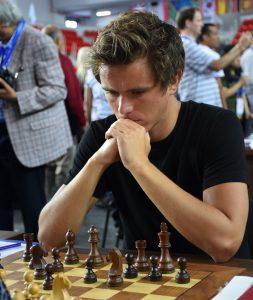OL-debutant Notkevich kan blir stormester under OL.