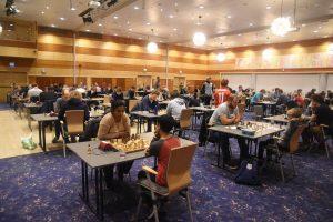 Fra 5. runde av Stavanger Open