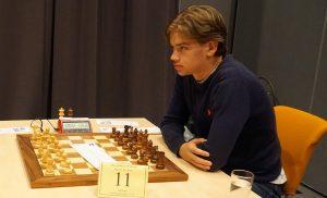 Tor Fredrik Kaasen er førstebordspiller for Norge