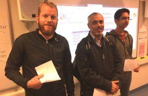 De tre beste i A-gruppen i Sørås Superonsdag