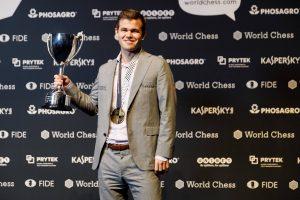 Carlsen forsvarte VM-tittelen