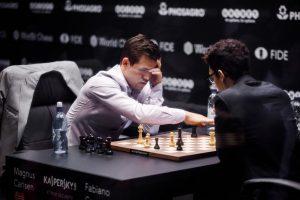 Carlsen var overlegen i omspillet