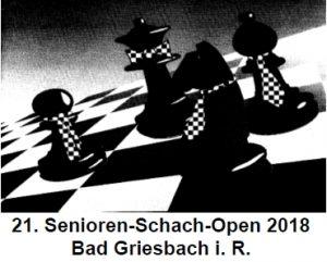 Jungsenioren-Schach-Open Bad Griesbach 2018