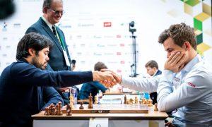 Nakamura og Carlsen nøytraliserte hverandre i siste runde
