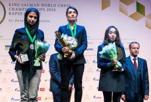 Medaljevinnerne i kvinneklassen
