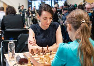Kateryna Lagno leder kvinneklassen etter første dag