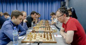 Fra sjakkfestivalen i Krakow