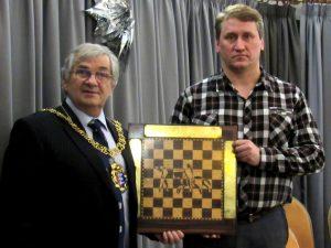 Korneev var en av seks spillere på delt førsteplass i Hastings