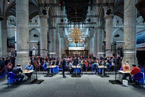 Det flotte spillelokalet i Leiden