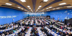 Fra Tata Steel Chess, hvor det også er en åpen turnering