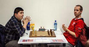 Francisco Silva Gonzalez mot Kjetil A. Lie i 1. runde