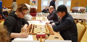 Fra Nordisk mesterskap for ungdom på Island
