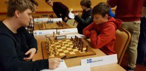 Fra tredje runde i Nordisk mesterskap.