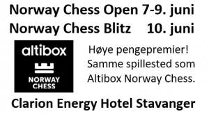 Norway Chess Open og Norway Chess Blitz